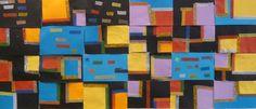 Collages à la manière de Mondrian.