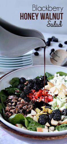 Apple Walnut Salad | Carlsbad Cravings