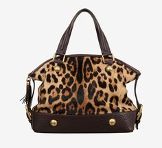 Dolce & Gabbana Leopard Pony Hair Bag