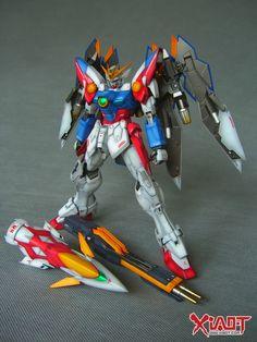 MG 1/100 Wing Gundam Proto Zero - Painted Build