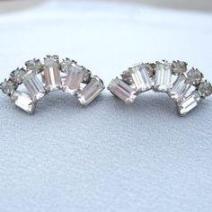 Kramer Earrings 1940 1950 Bridal