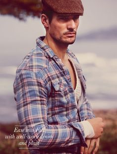 David Gandy; is there anything he can't wear