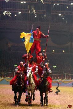 Britain International Horse Show Photo,Britain International Horse Show Pictures, Stills, The Ukrainian Cossacks
