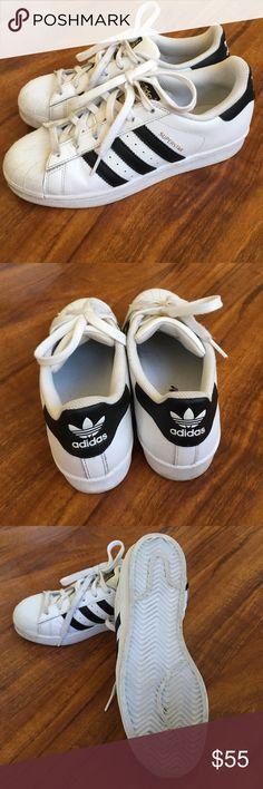 uk availability 9f93f e7e48 Women s adidas Original Superstar size 6 Gently worn Original Adidas  superstar white women s size 6 UK