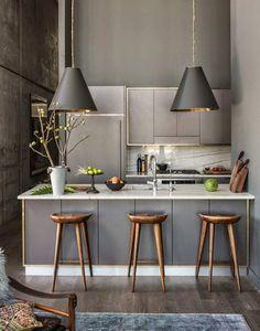 Espacio Cocina: tendencias y novedades en el diseño de cocinas en 2017 - LoveCooking