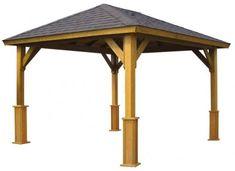 Foisor din lemn Leon Gazebo, Outdoor Structures, Garden, Letter Case, Kiosk, Garten, Pavilion, Lawn And Garden, Gardens