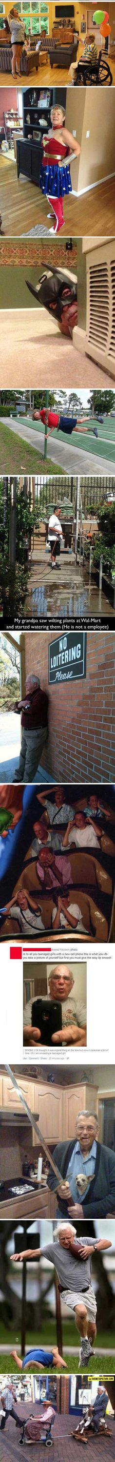 Growing old doesn't mean you have to grow less awesome... - The Meta Picture