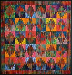 Delectable mountains. Dunn Quilting | Art Quilts Portfolio