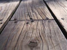 nailed old floor