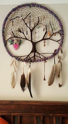 Mabelle's beautiful dream catcher!