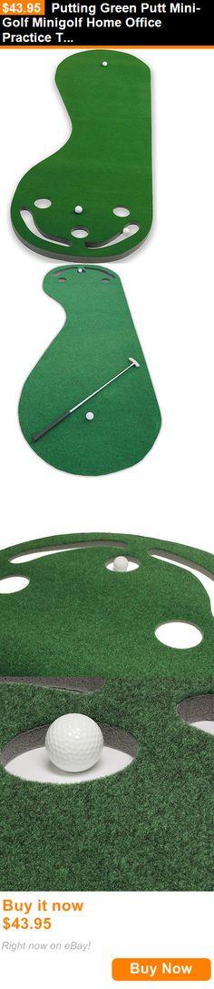 Putting Greens and Aids 36234: Putting Green Putt Mini-Golf Minigolf Home Office Practice Training Turf Matt BUY IT NOW ONLY: $43.95