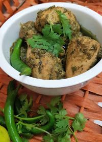 My Passion For Cooking: Green Chicken Karahi Green Chicken Recipe, Indian Chicken Recipes, Easy Chinese Recipes, Chicken Recipes Video, Veg Recipes, Curry Recipes, Grilling Recipes, Indian Food Recipes, Cooking Recipes