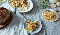 Food52's Shaved Fennel and Apple Salad Recipe - Le Pain Quotidien - Bakery & Communal Table