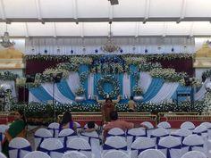 Bangalore Stage Decoration – Design #383  stage decoration services, flower decoration services, car decoration, wedding decoration, floral decoration, entrance decoration, wedding venue dressing ideas, reveries weddings