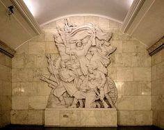 Bee Flowers - moscow metro smolenskaya