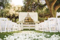 Pink & Gold Equestrian Center Wedding |Vivian & Greg | Wedding Colors