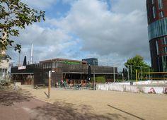Amsterdam Buitenveldert. VU (Free University) campus café.