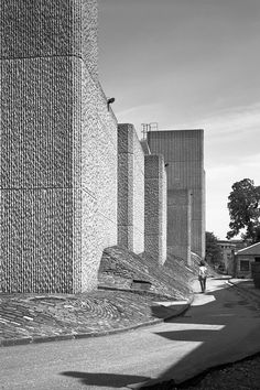 william whitfield - library, university of glasgow, 1968