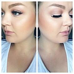 #TheBeautyBoard Makeup of the Day: SUMMER HEALTHY GLOW by MVlad. Upload your look to gallery.sephora.com for the chance to be featured! #Sephora #MOTD
