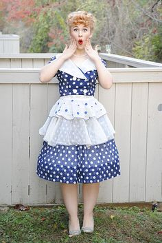 Lucille Ball from I Love Lucy! | 46 Awesome Costumes For Every Hair Color