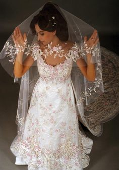 Blanka Matragi .Royal wedding dress for princes in UAE .