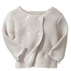a pretty little baby sweater
