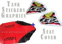 KIT SEAT & TANK COVER HONDA XR600 1998!!! SHIPPING WORLWIDE
