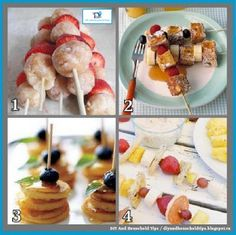 DIY And Household Tips: 4 Kid Friendly Meals On A Stick