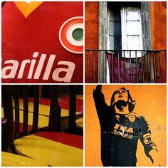 AS Roma | Tesstaccio walls, Barilla logo, Totti | also see http://pinterest.com/pin/265782815479128020/  #asroma
