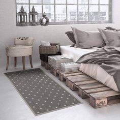 Grey Home Decor, Floor Mats, Sweet Dreams, Bedroom Decor, Flooring, Stars, Interior, Instagram, Indoor