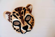 Charlie the Cheetah Mask and Tail set for by HuntingFaeries