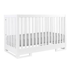 Your nursery goes Mod with this GREENGUARD GOLD Certified Karla Dubois Copenhagen 3-in-1 Convertible Crib. A new, clean and contemporary classic, your baby will sleep safely and soundly in the Copenhagen crib, while still maintaining her sense of style. Crafted from American Poplar wood, it has no moving parts and a secure non-drop rail. Finished with a non-toxic, water-based topcoat, this is one of the safest and sturdiest cribs available. An optional conversion kit allows you to easily…