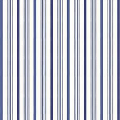 Saville Stripe Indigo wallpaper, Ralph Lauren Home