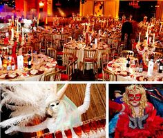 Masquerade Ball Ideas Decorations Decorating Carnival Themed Party Themes