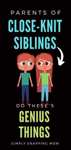 If you want to raise close siblings, look no further than these 5 simple parenting tips that will help your entire family build mental strength. Parents of close-knit siblings have been found to do these easy things. Do you do this already? #raisingclosesiblings #closeknitsiblings #brothersandsisters #siblingrivalry #raisinghappykids #familylife #momadvice #peacefulparenting #positiveparenting #parents #howto #raise #kids #newmomtips Peaceful Parenting, Gentle Parenting, Parenting Teens, Parenting Hacks, Love Languages For Kids, Raising Kids Quotes, Kids Health, Children Health, Positive Parenting Solutions