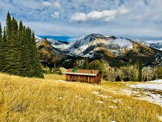 Pioneer Cabin Sun Valley Idaho-Autumn-Susan Meldrum