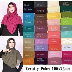 Ini yang paling ditunggu2 kaann Sekarang ada 39 warna lhoo PASHMINA• Pashmina cerutty ini sangat murah tapi bukan cerutty abal2 yah yg kea dipasar bahan nya  ini lebih tebel & gak licin  Kode: cerutty polos  Satuan @42.500 Bahan: cerutty  Ukuran: 195*75cm  Pinggiran neci rapih  #pasmina #pashmina #cerutti #ceruti #kerudungmurah #jilbabmurah #hijabtrend #hijabindonesia #trustedseller #olshop #hijab #hijabers  WA 081288717425