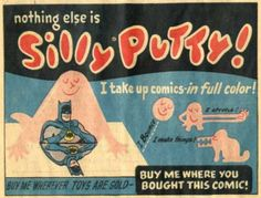 """The History of the """"Real Solid Liquid®""""    Silly Putty® has been around for 50 years now, and in the past half-century, it's become an American toy classic. From its origins in a scientist's laboratory in 1943 and its introduction to the world in 1950, to its addition to the Smithsonian Institution, the fun and colorful history of Silly Putty® is one for the books"""