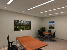 Projekt gabinetu dla Mitsubishi Warszawa / The project of an office for Mitsubishi, Warsaw