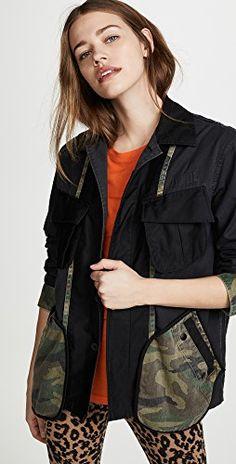 Enjoy exclusive for Facetasm Utility Jacket Camo Pockets online - Topbrandshits Snap Pants, Classy Yet Trendy, Wardrobe Basics, Capsule Wardrobe, Capsule Outfits, Long Blazer, Down Parka, Basic Outfits, Japan Fashion