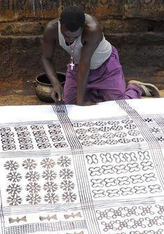 textile - Ghana - adinkra - African design