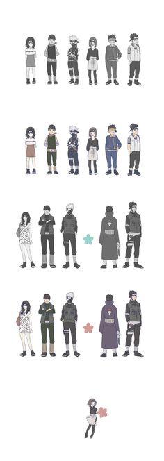 Sadness... (Yuuhi Kurenai, Maito Gai, Hatake Kakashi, Nohara Rin, Uchiha Obito, Sarutobi Asuma)