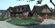 Stone Cottage with Flexible Garage - 16807WG - 03