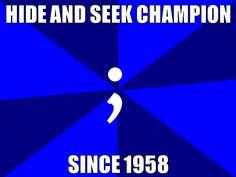 Programmer problems: The lost semicolon. Tech Meme for Meme Monday!