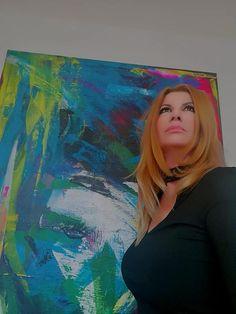 Artist Gordana Veljacic #abstractpainter #artiste #ateliergovegraz #galerie #modernpaintig #moderne #design #interior #inspiration #interiordesing #conterporaryart #canvas #presentations #painting #wohnenmitkunst #graz #gordanaveljacic #artlovers #handmade #fototheday #acrylbilder #homedecor #haus #work #abstractexpressionism #abstractartist #fineart #canvaspainting #colourful #modernart