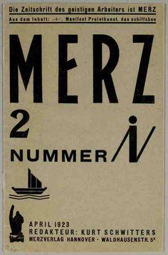 Merz [REVUE] / Hrsg. Kurt Schwitters, Hannover : [s.n.], 1923-1932