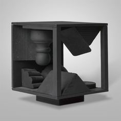 Collection Online | Louise Nevelson. Small Model VII. 1972 - Guggenheim Museum