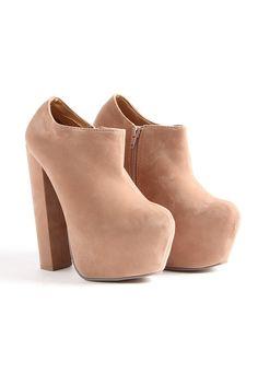 Pailin Suede Super High Shoe Boots