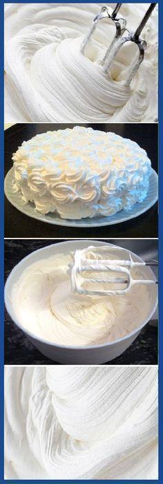 Cómo decorar con nata sin que se derrumbe. #nata #comodecorar #derrumbe #crema #postres #tips #cake #pan #panfrances #panettone #panes #pantone #pan #recetas #recipe #casero #torta #tartas #pastel #nestlecocina #bizcocho #bizcochuelo #tasty #cocina #chocolate Si te gusta dinos HOLA y dale a Me Gusta MIREN...