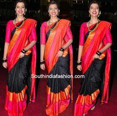 Tapsee in a flared half saree at Pearl V Potluris half saree function